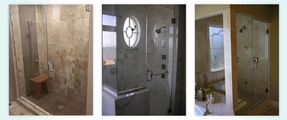 Frameless Shower Swing Doors   Frameless Glass Shower Enclosure